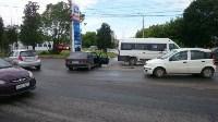 В Туле на пересечении ул. Ген. Маргелова и проспекта Ленина произошло тройное ДТП, Фото: 1
