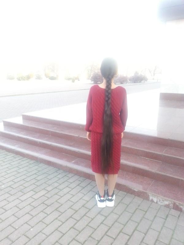 Моя краса длинная коса)