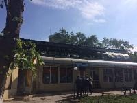 """На ул.9 Мая сгорел рынок """"Салют"""", Фото: 31"""
