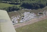 Тульские полигоны ТБО с высоты птичьего полета, Фото: 25