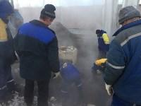 На трубопроводе Новомосковской ГРЭС произошла поломка, Фото: 4