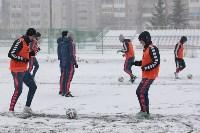 «Арсенал» готовится на снежном поле к игре против «Тосно», Фото: 19