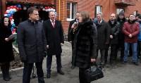 Губернатор Владимир Груздев вручил ключи от квартир новоселам в Узловском районе, Фото: 10