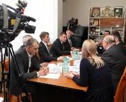 Алексей Дюмин обсудил с тульскими сельхозпроизводителями развитие молочного животноводства, Фото: 11