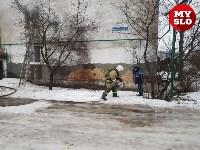 В Барсуках в двухэтажном доме загорелась квартира, Фото: 1