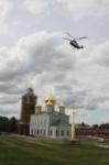 Установка шпиля на колокольню Тульского кремля, Фото: 32