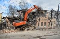 Снос аварийного дома на улице Октябрьской, Фото: 31
