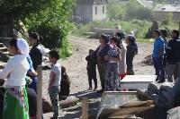 Демонтаж незаконных цыганских домов в Плеханово и Хрущево, Фото: 41