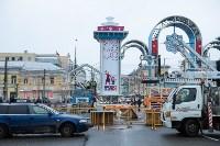 Установка новогодней арки, Фото: 11