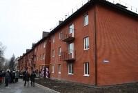 Губернатор Владимир Груздев вручил ключи от квартир новоселам в Узловском районе, Фото: 3