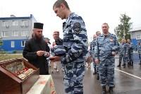 Сотрудники ОМОН поклонились мощам святого великомученика Георгия Победоносца, Фото: 43