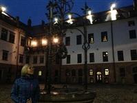Мирский замок ночью, Фото: 8