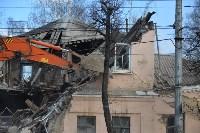 Снос аварийного дома на улице Октябрьской, Фото: 36