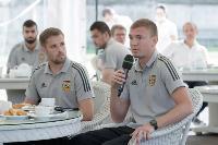 Сергей Егоров поздравил футболистов «Арсенала» с завершением сезона, Фото: 6