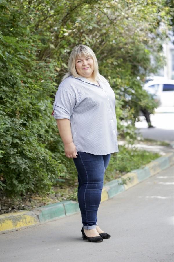 Екатерина Левина, 30 лет. Рост 165 см, вес 130 кг.