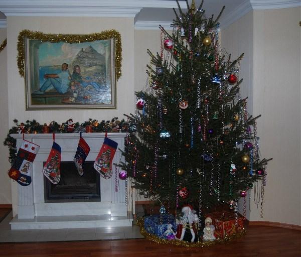 И вот она нарядная на праздник к нам пришла..... И много, много радости детишкам принесла!!!! Всех, всех с Новым годом и Рождеством Христовым!!!!!