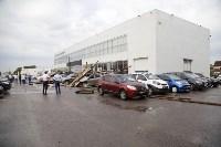 В Туле сорвало крышу делового центра, Фото: 15