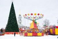 Праздничное оформление площади Ленина. Декабрь 2014., Фото: 4