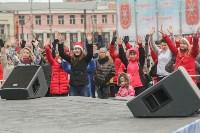Фитнес-зарядка на площади Ленина. 26 декабря 2015 года, Фото: 7