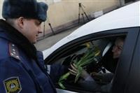 Полицейские поздравили автоледи с 8 Марта, Фото: 12
