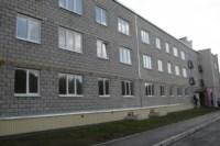 Вручение ключей от новых квартир переселенцев из аварийного жилья в Донском, Фото: 2