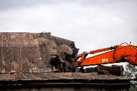 В Плеханово убирают незаконные строения, Фото: 10