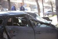 На улице Металлургов Renault Megane после ДТП вылетел на тротуар, Фото: 10
