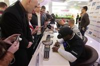 Бойцы М-1 провели открытую пресс-конференцию и встретились с фанатами, Фото: 40