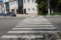 В Привокзальном округе Тулы выполняется ремонт тротуаров, Фото: 5
