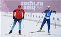 Евгений Гараничев (Россия) и Габриэла Соукалова (Чехия) на тренировке перед началом XXII зимних Олимпийских игр в Сочи., Фото: 1