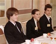 Владимир Груздев встретился со школьниками Тульской области, Фото: 2