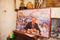 Александр Немцов рассказал об истории картины с Путиным, Богородицей и Николаем II, Фото: 12