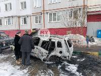 В Туле на улице Ф. Энгельса сгорел припаркованный Ford, Фото: 1