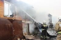 Пожар в цыганском поселении в Плеханово, Фото: 7