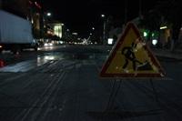 Укладка асфальта на проспекте Ленина. 6.06.2014, Фото: 27