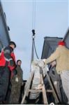 Утром 15 ноября в Тулу привезли шпиль для колокольни Успенского собора, Фото: 8