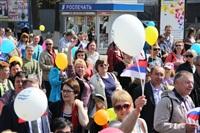 Тульская Федерация профсоюзов провела митинг и первомайское шествие. 1.05.2014, Фото: 68