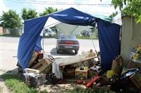 В Туле легковушка протаранила торговую палатку, Фото: 10