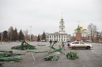 Установка елки на площади, Фото: 26