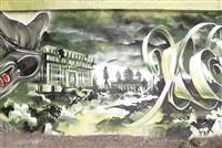 Военная фантастика. Очевидно, предвыборная. Тула, площадь  Ленина, битва за «белый дом». Увы, уже закрашено., Фото: 6