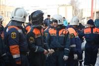 У дома, поврежденного взрывом в Ясногорске, демонтировали опасный угол стены, Фото: 12
