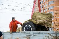 В Туле на ул. Приупской установили гаубицу Д-30, Фото: 7