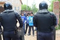 В Плеханово начали сносить дома в цыганском таборе, Фото: 11