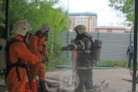 В Туле сотрудники МЧС эвакуировали госпитали госпиталь для больных коронавирусом, Фото: 52