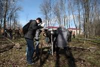 Посадка деревьев в Комсомольском парке, Фото: 28