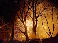 Крупный ночной пожар в Туле, Фото: 9