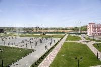 Плац и открытая спортивная площадка. Тут одновременно могут сдавать нормы ГТО 50 воспитанников, Фото: 17
