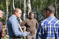 В Пролетарском районе высадили молодые деревья, Фото: 6
