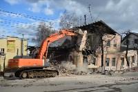 Снос аварийного дома на улице Октябрьской, Фото: 13