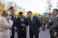 В Туле открыли памятник экипажу танка Т-34, Фото: 44